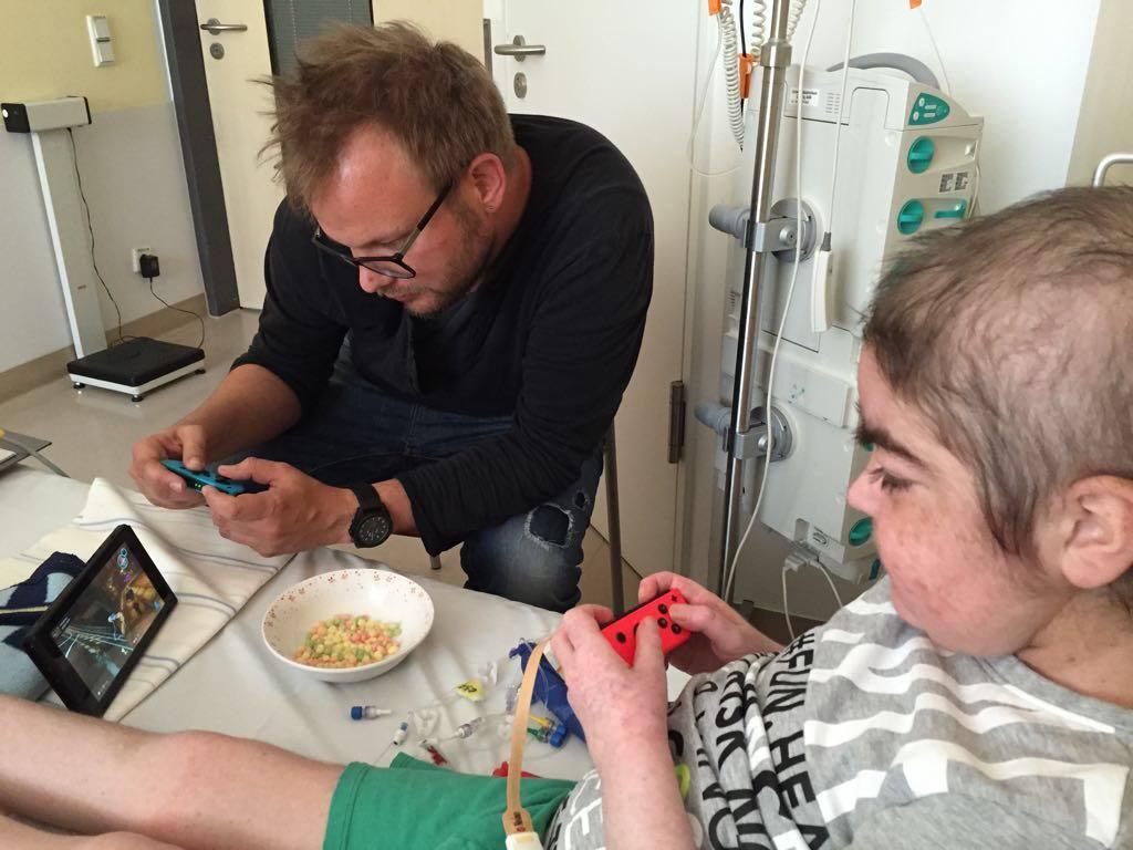 Spielen gegen Isolation auf der Kinderkrebsstation Leipzig
